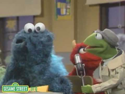Sesame Street: Kermit News - First Day of School with Cookie Monster