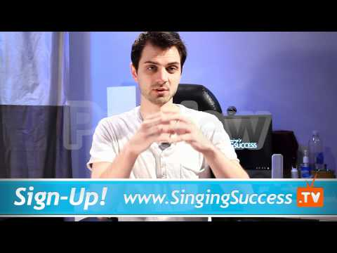 Singing Classes - 3 Stage Vocal Warm Up - Part 2