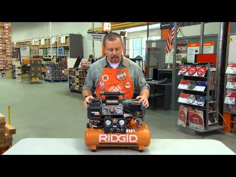 Ridgid Compressor - The Home Depot
