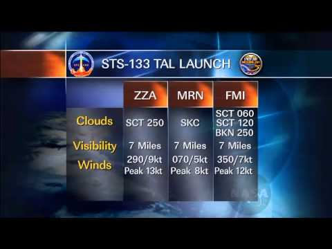 STS-133 Countdown to Start Today for a Targeted Wednesday Launch