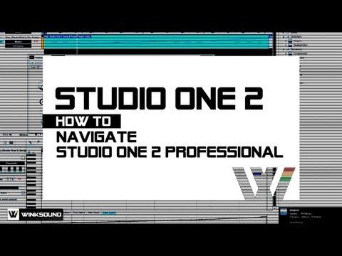 PreSonus Studio One 2: Overview Of PreSonus Studio One 2 Professional | WinkSound