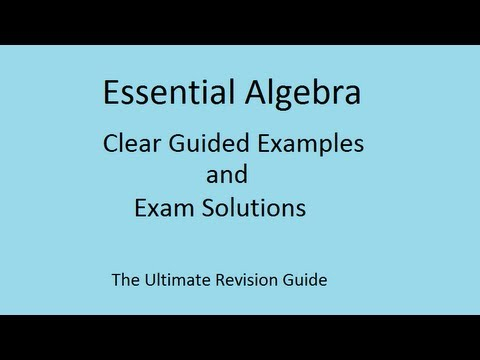 Solving equations easily by cross-multiplying - GCSE Maths linear algebra