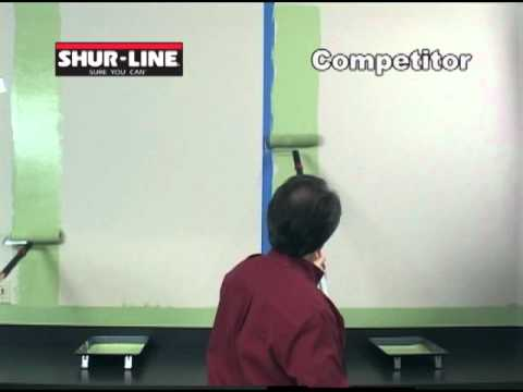 Shur-Line Paint Roller Cover Demonstration