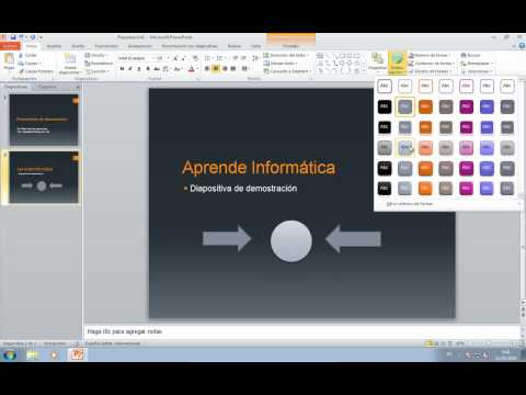 PowerPoint 2010, vistazo general