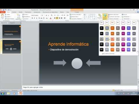 Power Point 2010 - Iniciacion