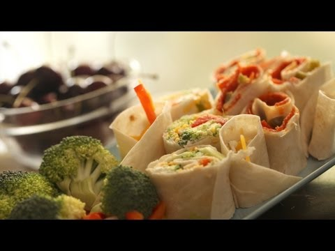 Snack Roll Ups Recipe: How to Make || KIN PARENTS