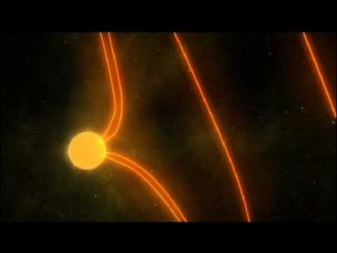 Solar Particles and Earth's Magnetic Field