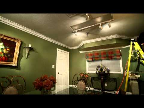 Watch Installation of Crown Molding (time lapse) - The Home Depot