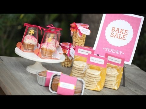 Package Food for a Bake Sale: How to    KIN DIY