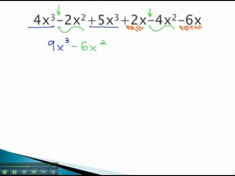 Simplify Algebraic Expressions - Combine Like Terms - YouTube.mp4