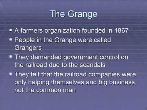 Schmidt Notes - US History - Unit 2 - The Age of the Railroads (Chapter 6.2)
