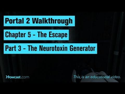 Portal 2 Walkthrough / Chapter 5 - Part 3: The Neurotoxin Generator