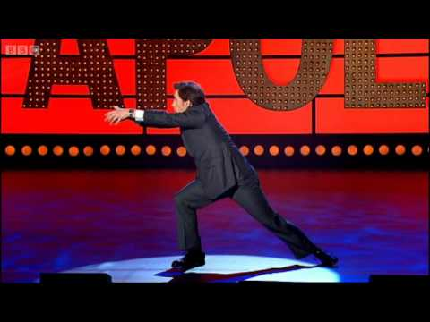 Rob Brydon on giving birth - Live at the Apollo - BBC