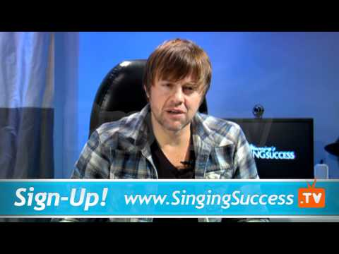 Singing Lessons - Learn to Sing Through A Bad Vocal Day