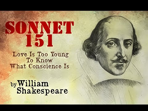 Pearls Of Wisdom - Sonnet 151 - Love Is Too Young To Know What Conscience Is by William Shakespeare