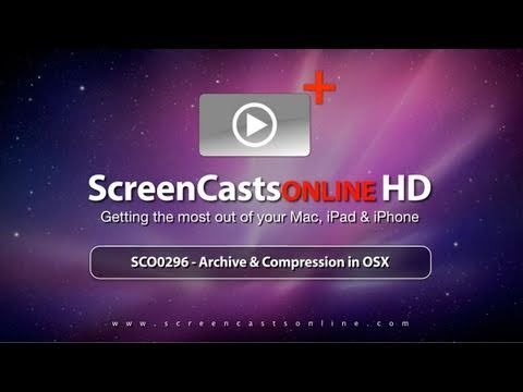 SCO0296 - Archive & Compression in OSX - Trailer