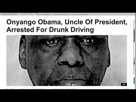 Obama's Uncle Arrested for DUI