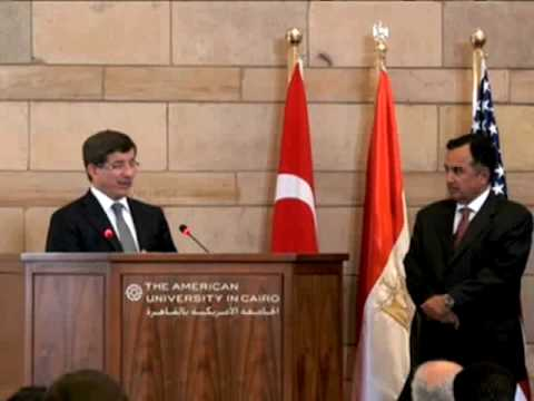 Turkish Foreign Minister Delivers Inaugural School of Global Affairs and Public Policy Lecture