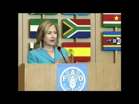 Secretary Clinton: Global Food Prices Are on the Rise