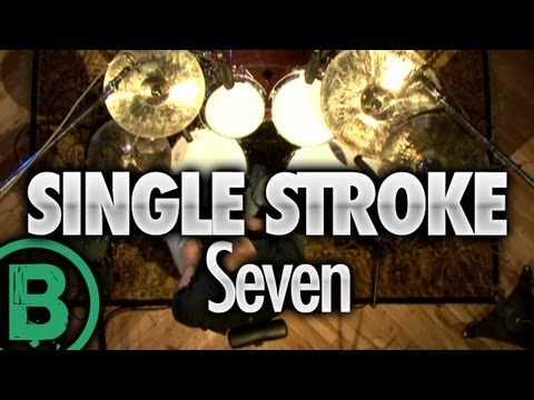 Single Stroke Seven - Drum Rudiment Lessons