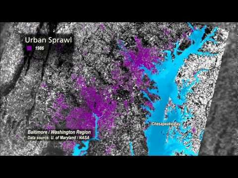 Science Bulletins: Urban Sprawl— Baltimore