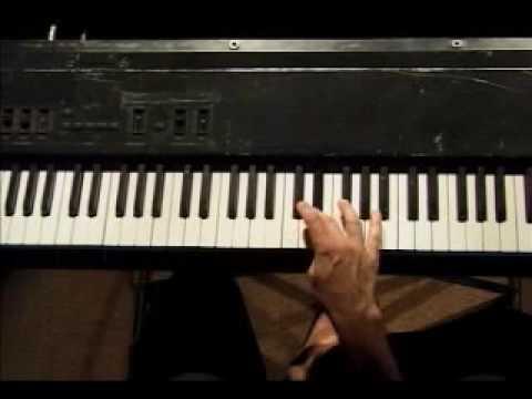 Piano Lesson - Ascending Chromatic (12-tone) Scale