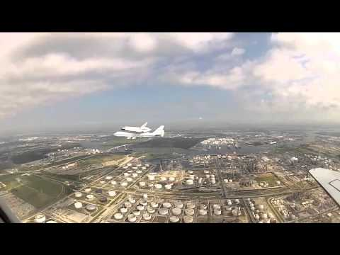 SCA Take Off From Houston to DFRC