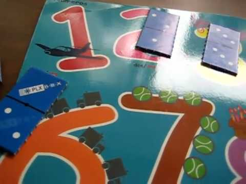 Toddler - Math. Number poster game