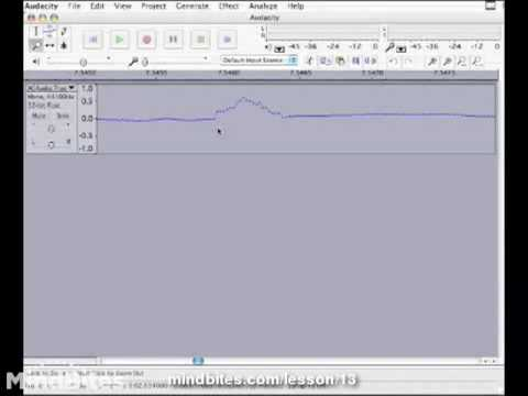 Understanding Audacity Toolbars and Audio Effects