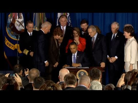 President Obama Signs 'Don't Ask, Don't Tell' Repeal Into Law