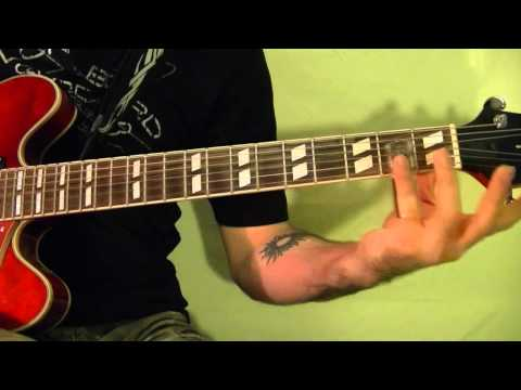 Slide Blues Guitar Lesson in D Tuning