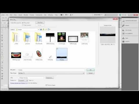 Using Dreamweaver CS5 and HTML5 to build a website - pt1