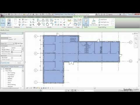 Revit Architecture: How to work with floors | lynda.com tutorial