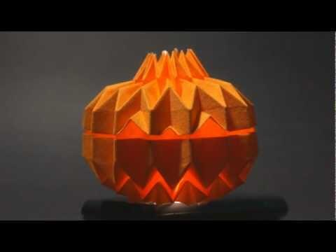 Origami Jack O' Lantern - Preview (Tomohiro Tachi)