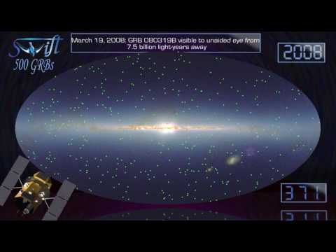 NASA | Swift Targets 500 Gamma-ray Bursts