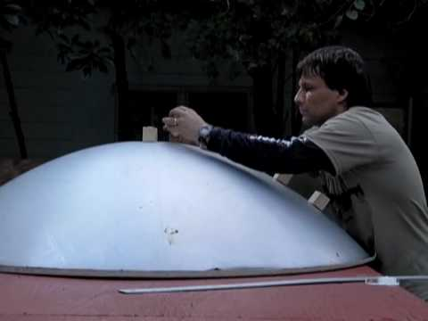 PART 2 PARABOLIC TROUGH DIY reflective mirror HUGE SOLAR REFLECTOR