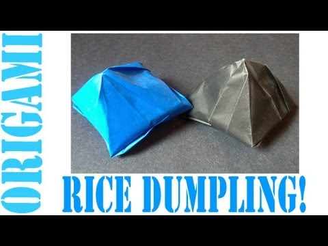 Origami Daily - 219: Rice Dumpling - TCGames [HD]