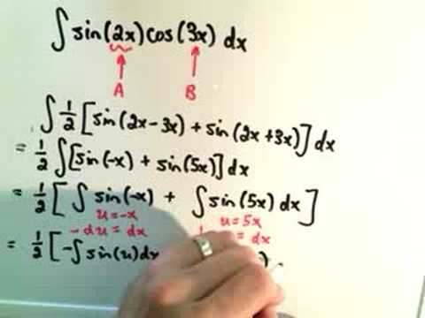 Trigonometric Integrals - Part 5 of 6
