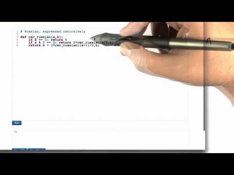 Recurrence Relation - Algorithms - Crunching Social Networks - Udacity
