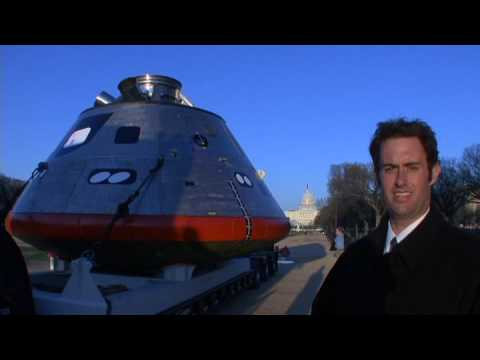 NASA Orion Crew Vehicle Visits the Smithsonian During Test Regimen