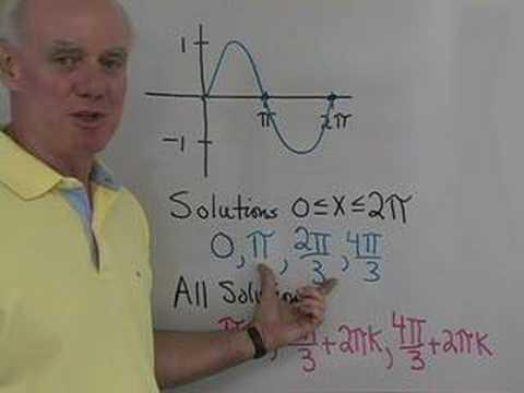 Trig: Solving Equations 2