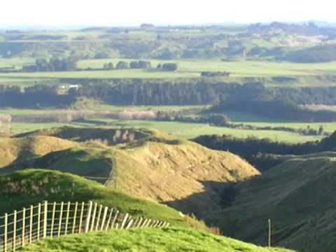 Terraces on the Southern Part of the North Island, New Zealand