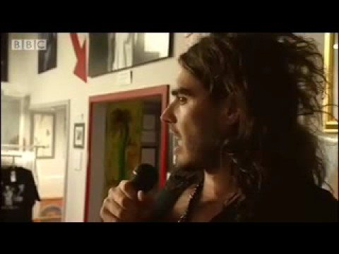 Russell Brand's blabbermouth standup - Russell Brand on the Road - BBC documentary