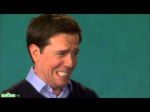 Sesame Street: Ed Helms and Elmo - Grimace