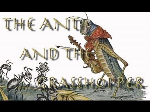 The Ant and the Grasshopper | Learn English | Aesop's Fables
