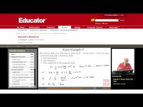 Physics: Maxwell's Equations