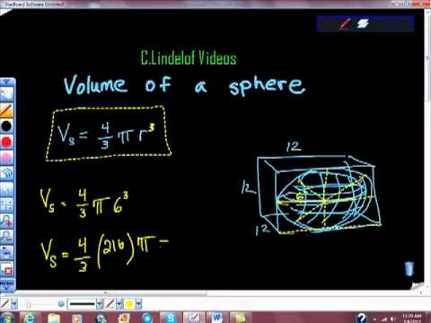 Volume of A Sphere Geometry