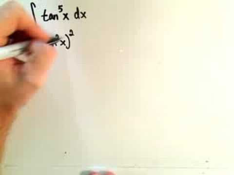 Trigonometric Integrals - Part 4 of 6