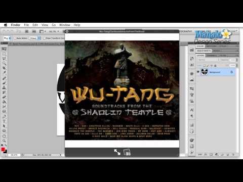 Photoshop Tutorial - Logo Case Study - Wu Tang Clan