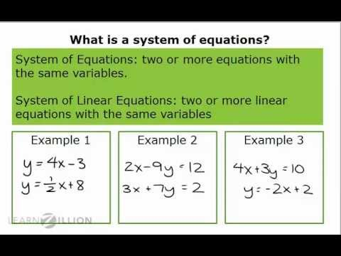 Solve systems of equations using substitution (1) - 8.EE.8